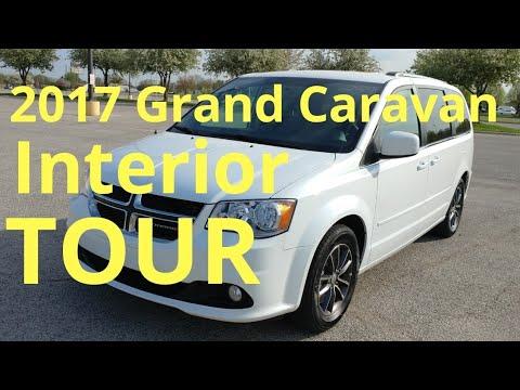 2017 Dodge Grand Caravan Sxt Interior Tour At Milroy 46156 In
