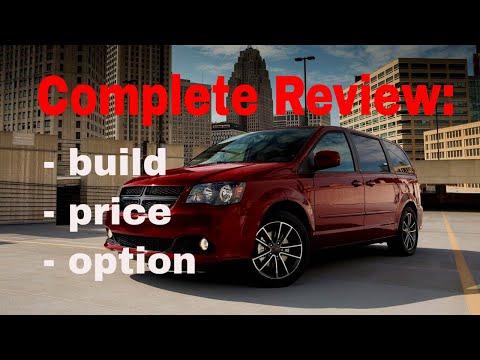 2018 Dodge Grand Caravan Se Se Plus And Sxt Build Price Review