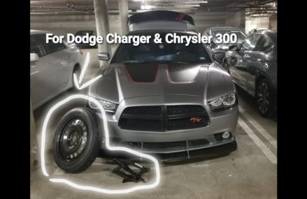 How to Jack Up your Dodge Charger & Chrysler 300 + The Correct Way to Mount your Spare and Jack. From 38720 Alligator MS