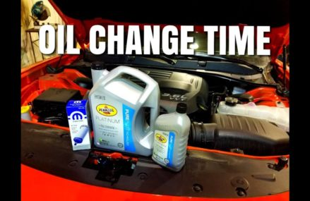 2017 Charger 3.6L Pentastar oil change | How to For 15007 Bakerstown PA