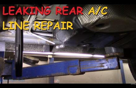 Leaking Rear A/C Line Repair – Dodge Durango Minneapolis Minnesota 2018