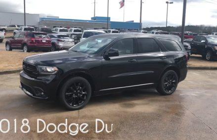 """2018 Dodge Durango SXT Plus """"Blacktop Edition"""" Dayton Ohio 2018"""