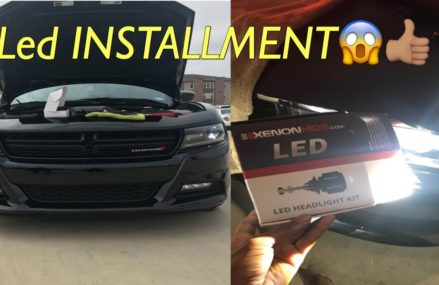 Led Headlights installed on 2016 Charger! Within Zip 91901 Alpine CA