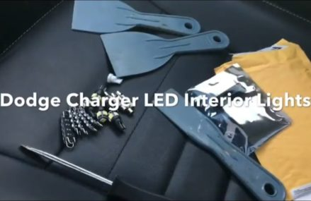 Dodge Charger LED Interior Light Kit Installation Near 22245 Arlington VA