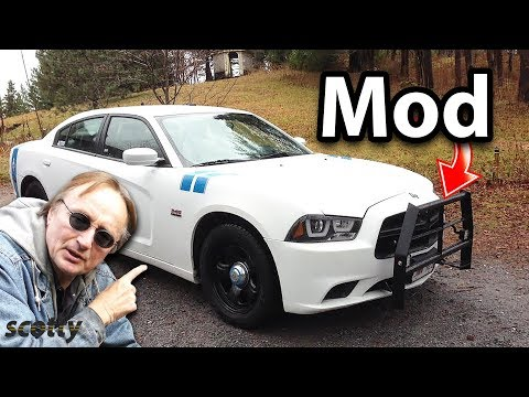 Modified Dodge Charger Police Pursuit Vehicle in Canada - Tons of Custom Mods 2019