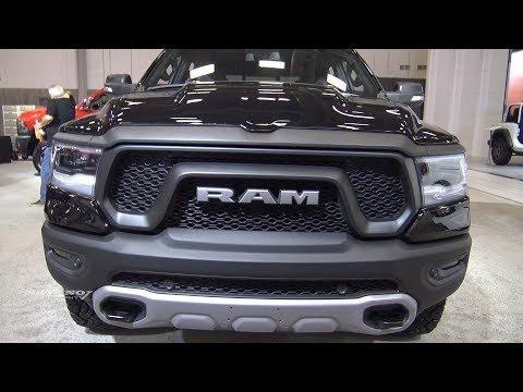 RAM Rebel Exterior And Interior Walkaround Quebec - 2018 car show dc