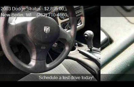 Dodge Stratus Sxt Coupe – Northport 35475 AL