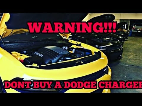 WATCH THIS BEFORE BUYING A DODGE CHARGER 2019