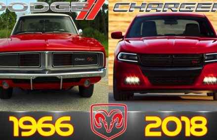 DODGE CHARGER Evolution From 1966 – 2018 From 83801 Athol ID