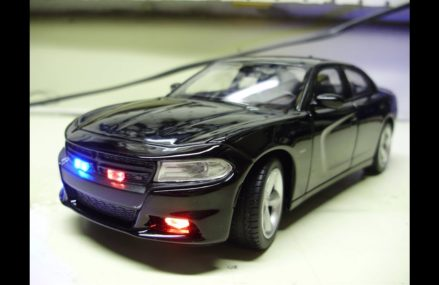 Custom 2016 Dodge Charger unmarked police diecast model with working lights From 24811 Avondale WV