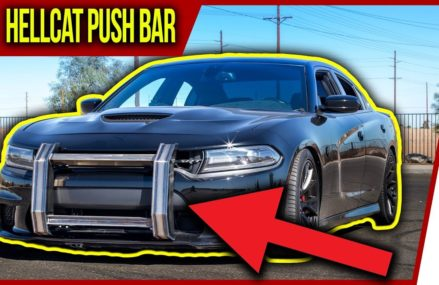 Hellcat Charger Custom Push Bar First Looks! ✔️ at 78757 Austin TX