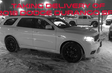 Taking delivery of new 2018 Dodge Durango SRT Palmdale California 2018