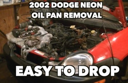 Dodge Stratus Oil Pan Removal in Long Beach 90806 CA