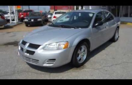 Dodge Stratus Models – North Kingstown 2852 RI