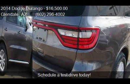 2014 Dodge Durango SXT 4dr SUV for sale in Glendale, AZ 8530 Little Rock Arkansas 2018