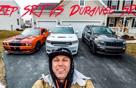 2016 Jeep Grand Cherokee SRT VS 2018 Dodge Durango SRT What SUV Is The Fastest Milwaukee Wisconsin 2018