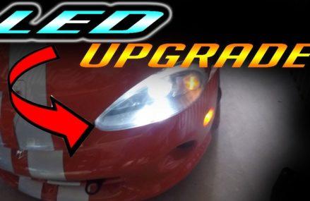 Dodge Viper Headlight in Birmingham International Raceway, Birmingham, Alabama 2018