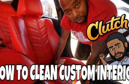 HOW TO CLEAN CUSTOM LEATHER SEATS DODGE CHARGER Now at 53002 Allenton WI