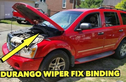 Dodge Durango Wiper Fix…Pulsating and binding! No New Motor Needed. Madison Wisconsin 2018