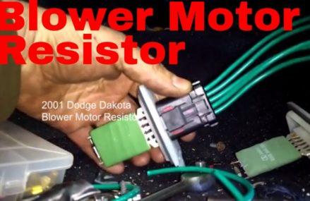 Dodge Stratus Blower Motor Resistor, Washington 20017 DC