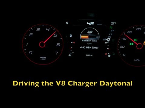 2017 Dodge Charger Daytona 5.7L V8 0-60 mph 2019