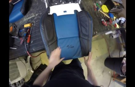 How to install leather seat covers on Dodge Charger RT front seats Within Zip 22711 Banco VA