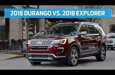 Compare 2018 Dodge Durango With 2018 Ford Explorer | Head to Head | Ford Clarksville Tennessee 2018