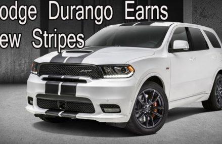 Dodge Durango Earns New Stripes, Carbon Fiber Interior and Mopar Performance Parts Raleigh North Carolina 2018