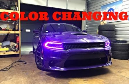 2015+ Dodge Charger RGBW DRL LED Boards Diode Dynamics Installation by ModFX in 12247 Albany NY