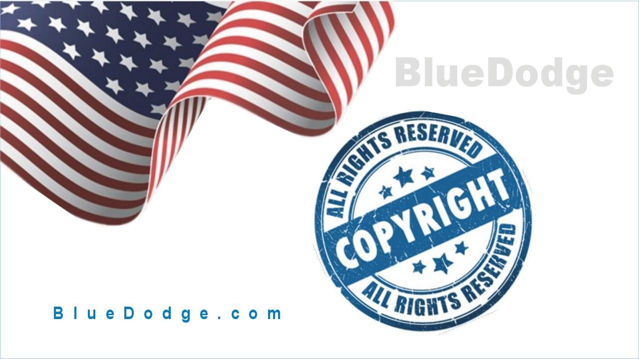 Copyright-Notice-BlueDodge