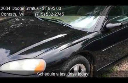 2004 Dodge Stratus Coupe at San Francisco 94126 CA