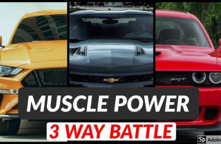 Ford Mustang GT vs Chevy Camaro SS vs Dodge Challenger   Exhaust Sound and Acceleration For Manquin 23106 VA