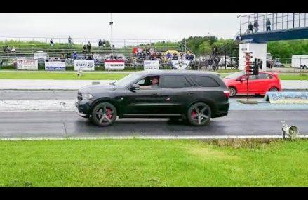 Dodge Durango w/ HELLCAT engine swap 1/4 mile Fort Wayne Indiana 2018