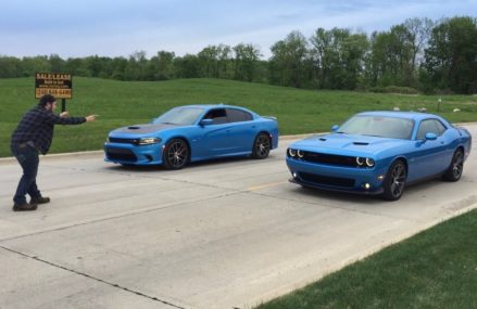 Scatpack Chargers vs Scatpack Challengers! Which is faster? in 58212 Aneta ND
