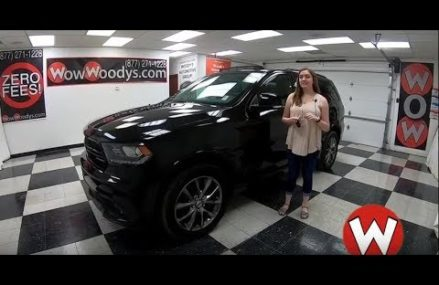 2017 Dodge Durango Review | Video Walkaround | Used Cars and Trucks for Sale at WowWoodys Plano Texas 2018