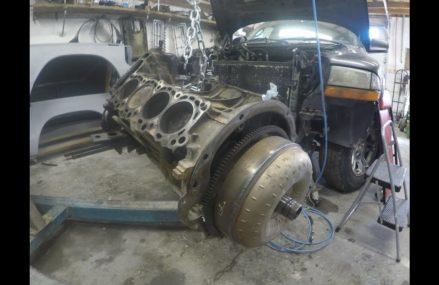 2002 Dodge Dakota 4.7L V8 Engine Rebuild (Part 3) Nashville-Davidson Tennessee 2018