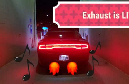 One Of The Best V6 Dodge Charger Exhaust Sounds! in 31707 Albany GA