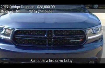2017 Dodge Durango GT AWD 4dr SUV for sale in Redford, MI 48 Tampa Florida 2018