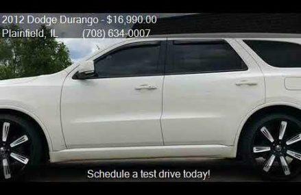 2012 Dodge Durango R/T AWD 4dr SUV for sale in Plainfield, I Bridgeport Connecticut 2018