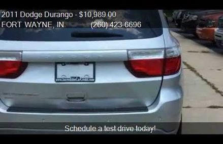 2011 Dodge Durango Heat AWD 4dr SUV for sale in FORT WAYNE, Raleigh North Carolina 2018