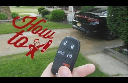 How to change out a Dodge Charger Key Fob Battery Replacement Around Zip 35543 Bear Creek AL