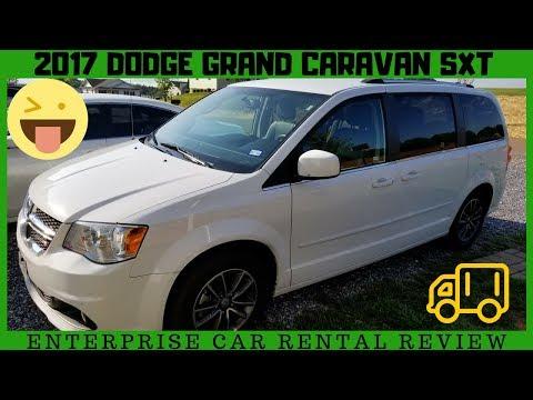 Dodge Grand Caravan Sxt 2017 Enterprise Rental Van Car Review