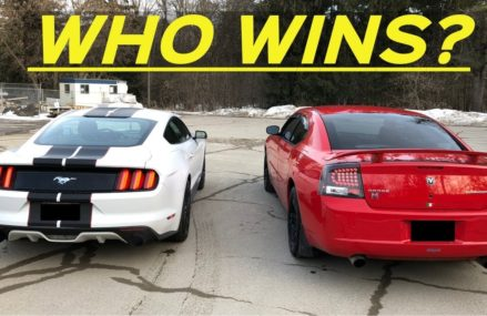 2009 Dodge Charger 3.5L V6 vs. 2016 Ecoboost Mustang – Drive-Bys, 0-60, & RACE! Local Area 54202 Baileys Harbor WI