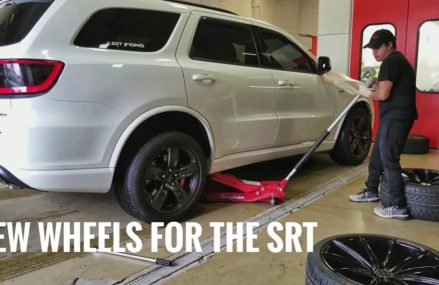 This SRT Durango Gets New Shoes & Lowered Stance Buffalo New York 2018