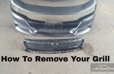 How To Remove Upper Grill From 2015+ Dodge Charger (w/ bonus footage) For 79104 Amarillo TX