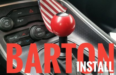 Barton Industries Shifter unboxing and install for 15-17 A8 Dodge Challenger/Charger in 85322 Arlington AZ