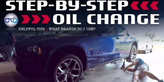 Dodge Charger R/T 5.7L HEMI Step-By-Step Oil Change & Helpful Hints Local Area 22204 Arlington VA