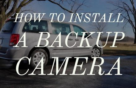 How to install a backup camera on a Dodge Caravan – AUTO-VOX WM1 Near Monticello 47960 IN