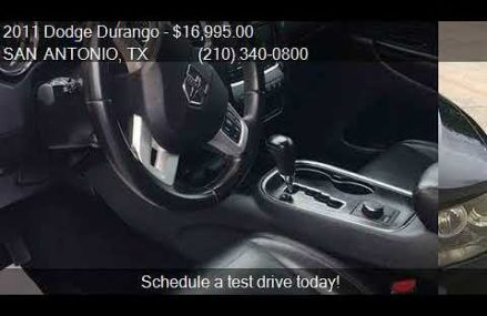 2011 Dodge Durango R/T AWD 4dr SUV for sale in SAN ANTONIO, Aurora Colorado 2018
