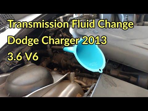 2010 dodge avenger transmission fluid change